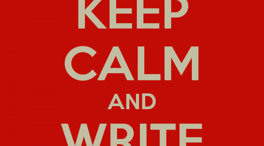 Keep calm and write on: how to focus in the age of Trump