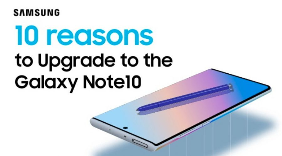 New on the portfolio: 10 Reasons to Upgrade to the Galaxy Note10